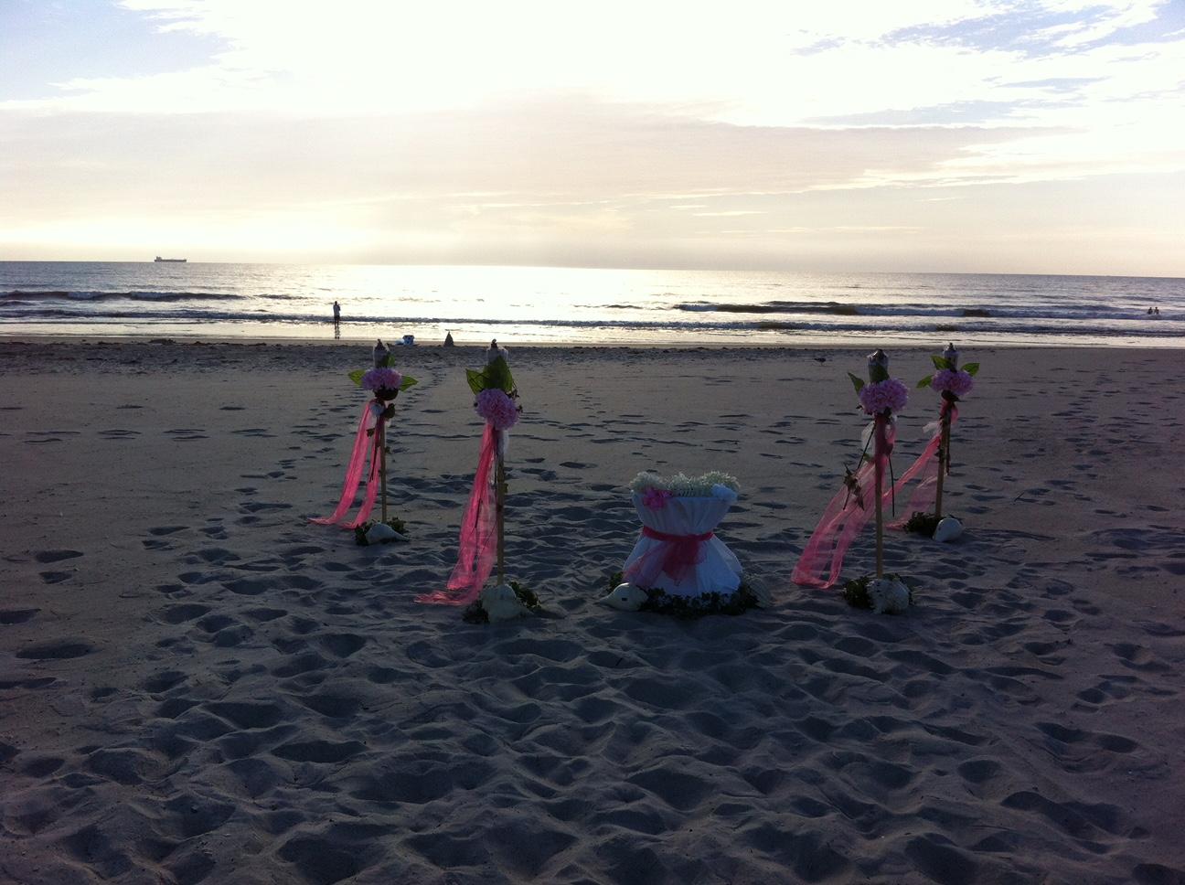 Beach Wedding on Cocoa Beach