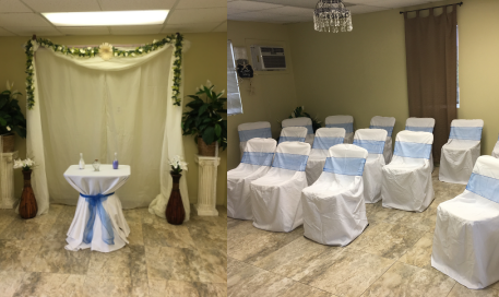 Indoor Wedding Cocoa Beach
